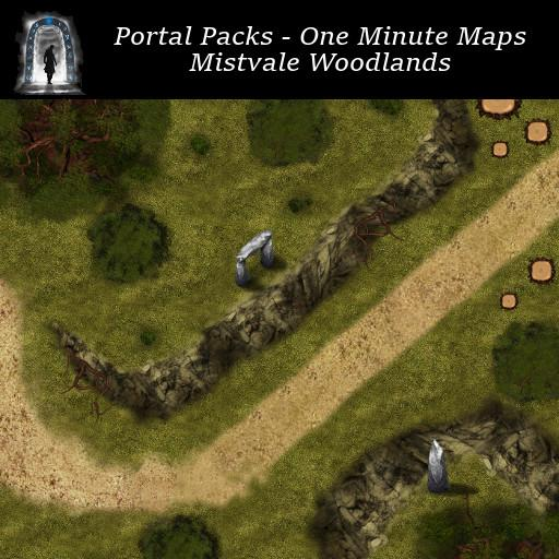 Portal Packs - One Minute Maps - Mistvale Woodlands