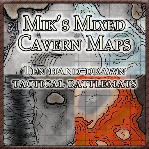 Mik's Mixed Cavern Maps