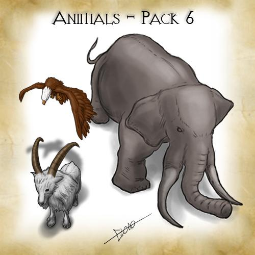 Animals - Pack 6