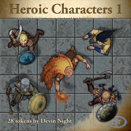 45 - Heroic Characters 1