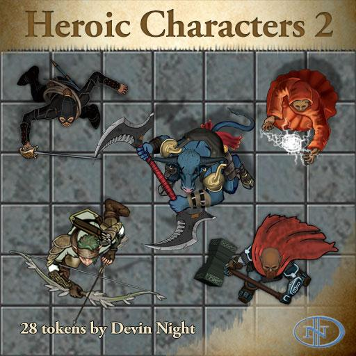 46 - Heroic Characters 2