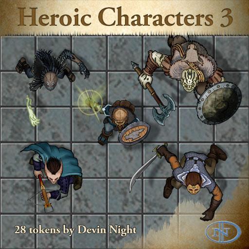 47 - Heroic Characters 3