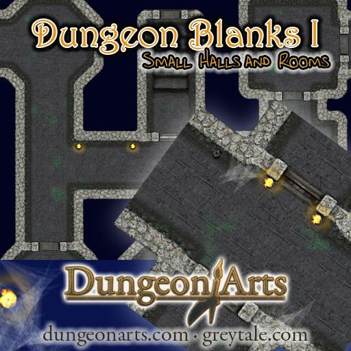 Greytale's Dungeon Blanks 1