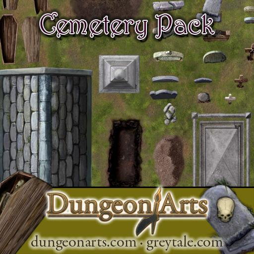 Greytale's Cemetery Pack