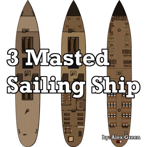 3 Mast Ship