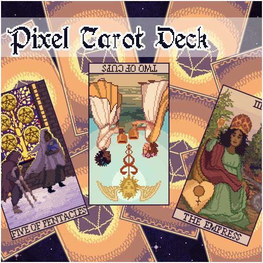Pixel Tarot Deck | Roll20 Marketplace: Digital goods for