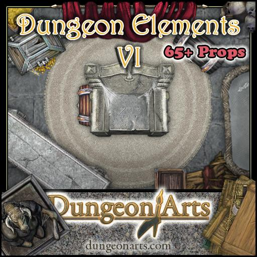 Greytale's Dungeon Elements 6