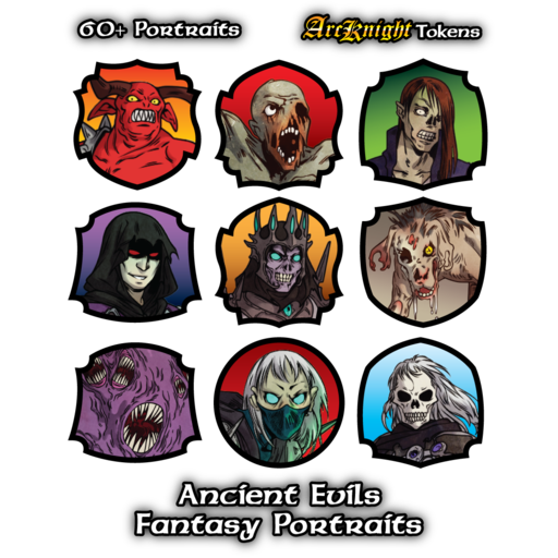 Arcknight Portraits - Ancient Evils