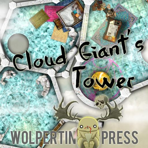 Cloud Giant's Tower Dungeon-On-Demand Map Pack