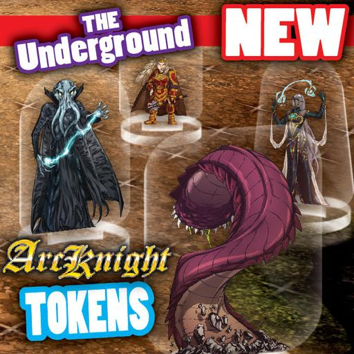 Arcknight Tokens - Underground