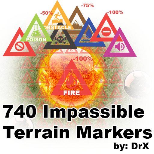 Impassible Terrain Markers