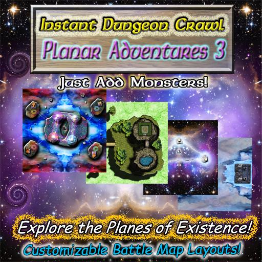Instant Dungeon Crawl: Planar Adventures 3