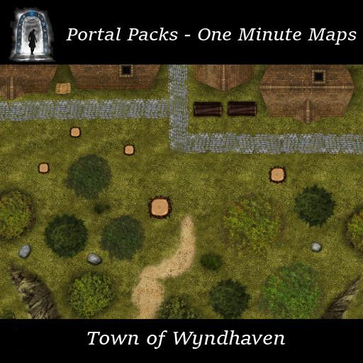 Portal Packs - One Minute Maps - Town of Wyndhaven