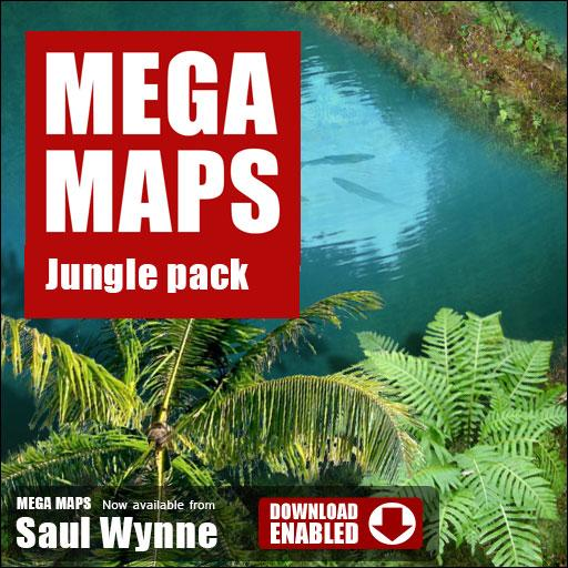 MEGA MAPS Jungle Pack