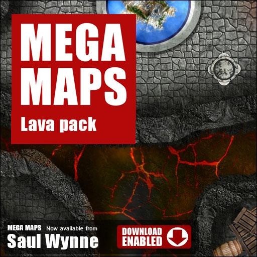 MEGA MAPS Lava Pack