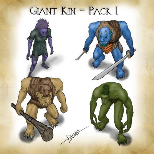 Giant Kin Pack