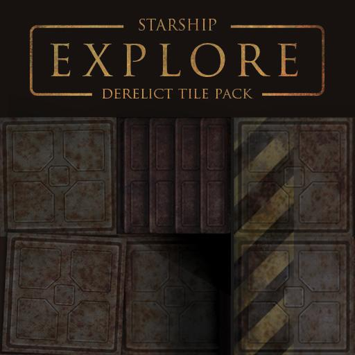 Starship Explore - Derelict Tile Pack