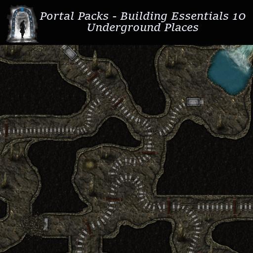 Portal Packs - Building Essentials 10 - Underground Places
