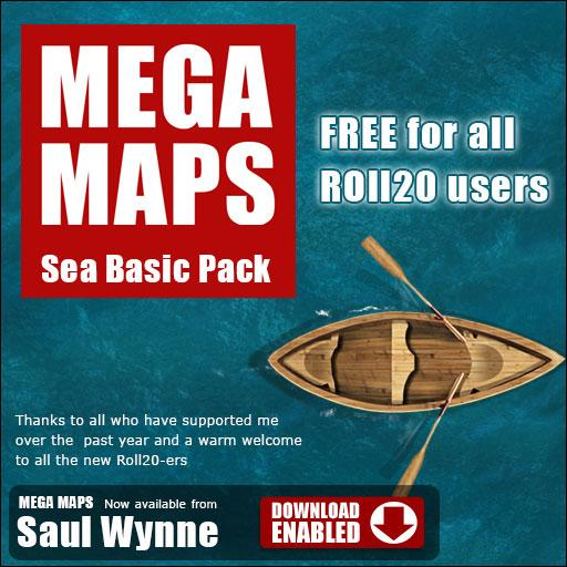 MEGA MAPS Basic Sea Pack