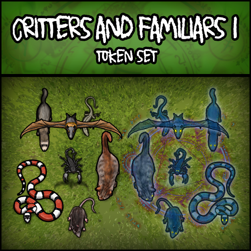 Critters and Familiars 1