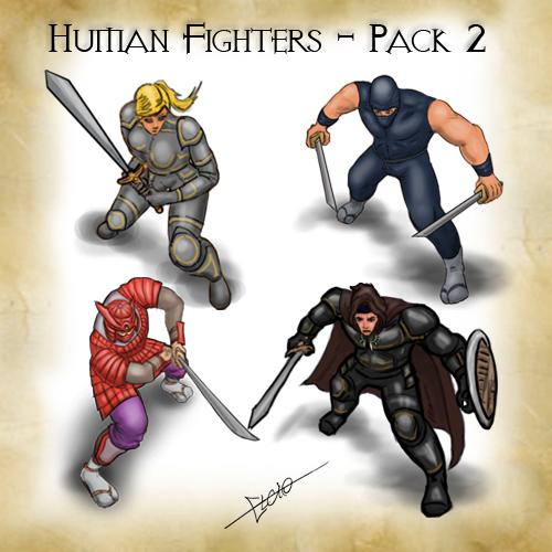 Human Fighters Pack 2