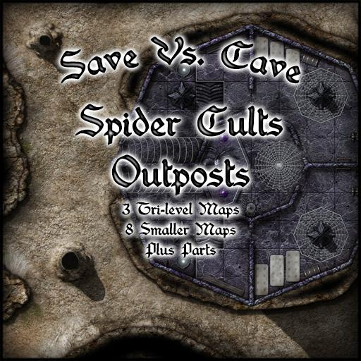 Save Vs. Cave Spider Cults Outposts
