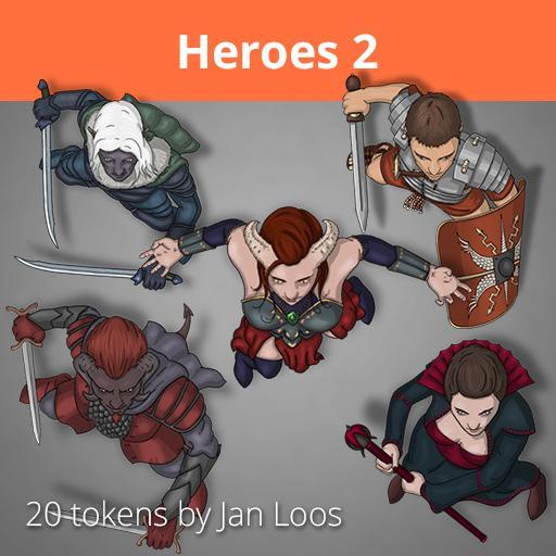 Jans Token Pack 6 - Heroes 2