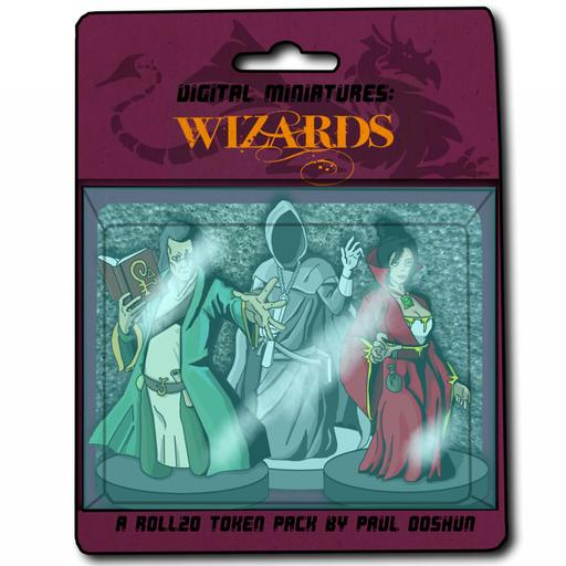 Digital Miniatures - Wizards