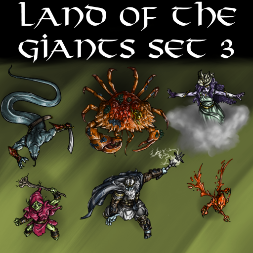 Land of the Giants Set 3