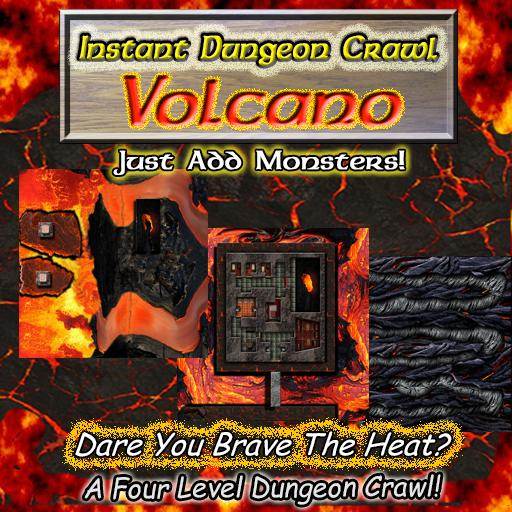 Instant Dungeon Crawl: Volcano