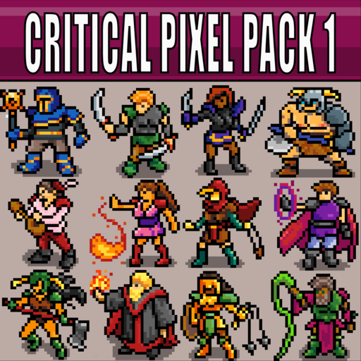 Critical Pixel Pack 1