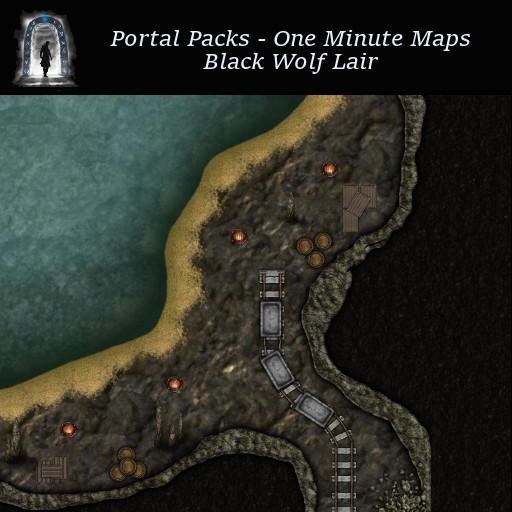 Portal Packs - One Minute Maps - Black Wolf Lair