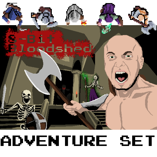 8-Bit Bloodshed: Adventure Set