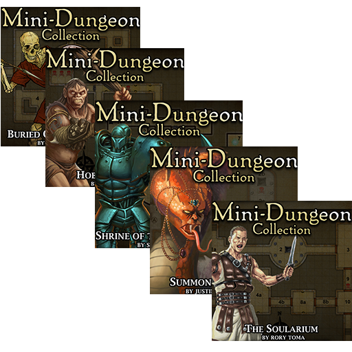5E Mini-Dungeons Bundle #001-#005