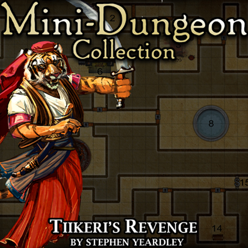 5E Mini-Dungeon #009: Tiikeri's Revenge