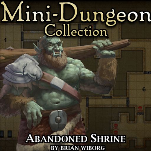5E Mini-Dungeon #006: Abandoned Shrine