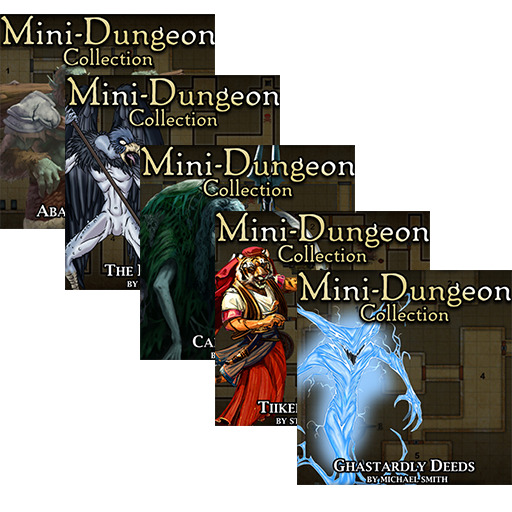 5E Mini-Dungeons Bundle #006-#010