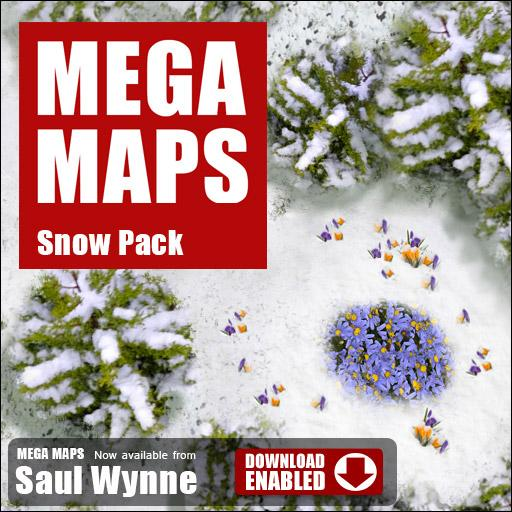 MEGA MAPS Winter Snow
