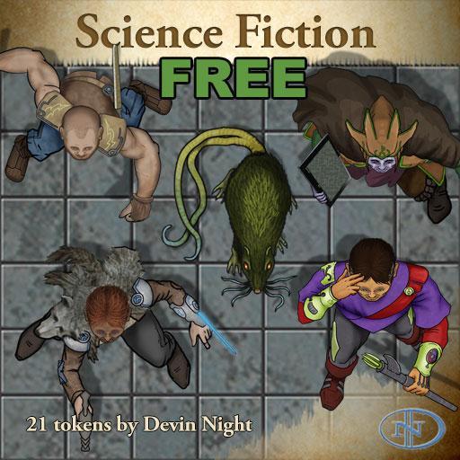 Free SciFi Tokens