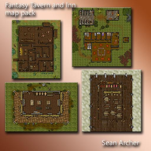 Fantasy Structures Pack 1