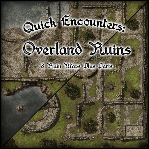 Quick Encounters: Overland Ruins