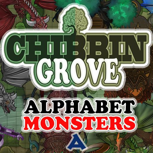 Chibbin Grove Alphabet Monsters A