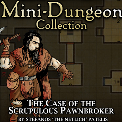 5E Mini-Dungeon #013: The Case of the Scrupulous Pawnbroker