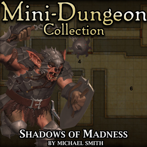 5E Mini-Dungeon #017: Shadows of Madness