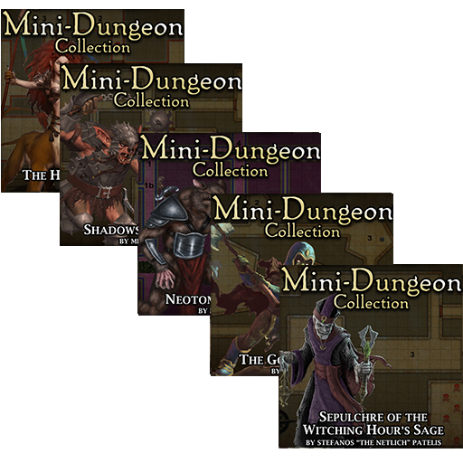 5E Mini-Dungeons Bundle #016-#020