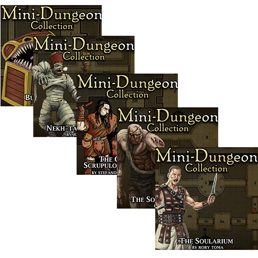 5E Mini-Dungeons Bundle #011-#015