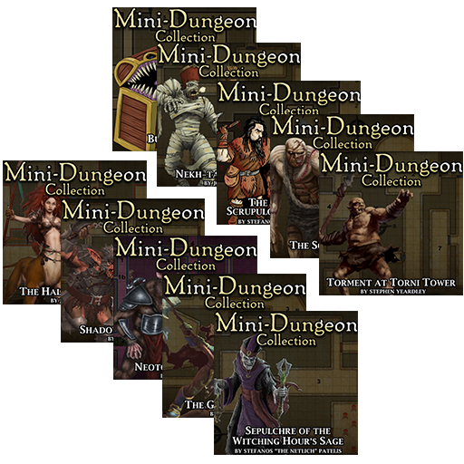 5E Mini-Dungeons Mega Bundle #011-#020