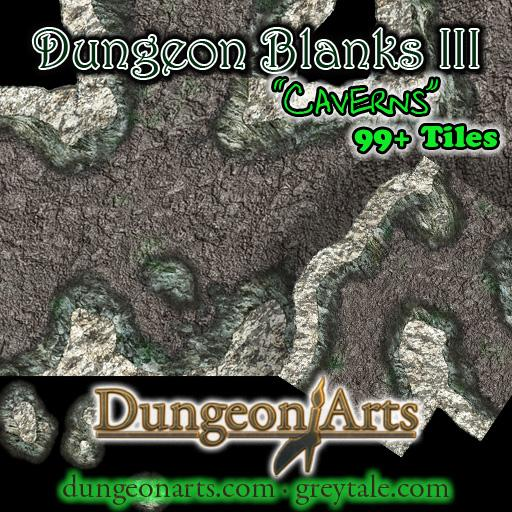 Greytale's Dungeon Blanks 3