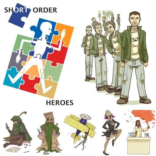 Short Order Heroes Complete
