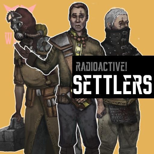 Radioactive Wasteland Settlers